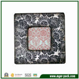 Modern Custom Square Wooden Patterned Picture Frame