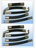 Flexible preiswertere hydraulische Großhandelsgummischlauch-Baugruppe