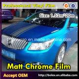 PVC材料カラーマットのクロム車の覆いのビニールのフィルム、1.52mの幅