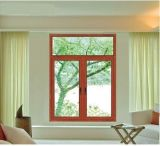 Aluminum personalizado Double Glazing Windows, Casement Window com Flyscreen