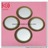 Disco piezoeléctrico redondo del elemento de cerámica piezoeléctrico al por mayor