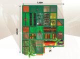 Juich Apparatuur 20120609-Sk-014-1 van de Speelplaats van de Kinderen van Themed van de Wildernis van het Vermaak Binnen Zachte toe