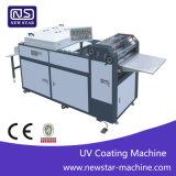 Macchina di rivestimento UV manuale Sguv-660 per documento con il collettore del pareggiatore