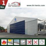 Tente de hangar en aluminium et en PVC utilisée pour abris d'aéronefs