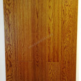 Suelo de madera dirigido suelo del roble del suelo del roble con color del trigo