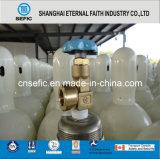 Cilindro de gás de alta pressão do cilindro de gás do aço sem emenda