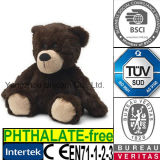 Urso de Brown macio do brinquedo do luxuoso do animal enchido do presente dos miúdos do GV