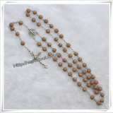 2015 la religion traditionnelle Rose perle le rosaire/rosaires de Rose (IO-cr263)