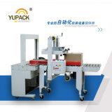 Máquina de Taping automática del rectángulo del cartón de Yupack con atar con correa la máquina