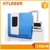 Certificado do GV do Ce FDA da máquina de estaca do laser da fibra da câmara de ar do metal da máquina de estaca 500W da placa da tubulação