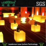 Cubo ligero de los muebles de la decoración LED del taburete de barra (LDX-C05)