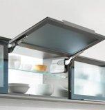 De moderne Houten Keukenkast van de Lak met Eiland Waterfull