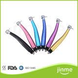 (다채로운 TUP) 구멍 치과 다채로운 2/4 LED 고속 Handpiece