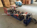 50-200 máquina de soldadura plástica da tubulação do HDPE do milímetro