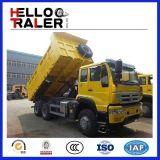 모래 수송을%s 기계적인 6X4 25 톤 HOWO 팁 주는 사람 덤프 트럭