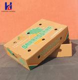 Preiswerte und gute Qualitätsfrucht u. Gemüse-Karton-gewölbte Verpackungs-verpackenkasten-Tellersegment