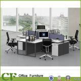 Tabela moderna L estação de trabalho do escritório do estilo do escritório da forma