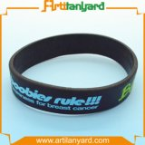 Wristband personalizado relativo à promoção do silicone com presente