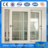 Marco de aluminio de encargo Windows con la parrilla