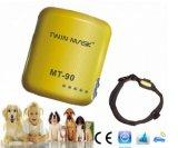 Perseguidor impermeável do SOS Mt-90s GPS para perseguidor do GPS do colar do animal de estimação da vaca dos gatos dos cães o mini
