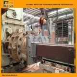 Cadena de producción automática completa del ladrillo de la salida doble máquina