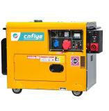 Fya6500 Stille Diesel Generator met ATS