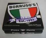 Branco exterior e caixa interior natural/de Kraft pizza (CCB14001)