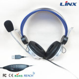 Компьютер 3.5mm/USB Headphone с Microphone