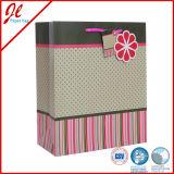 Bolsas de papel del regalo de la flor con la manija cortada con tintas