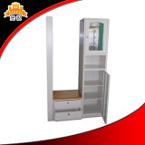 New Design Iron Metal Clothes Roupão de banho Almirah Dressing Wardrobe