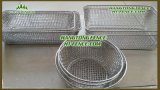Stainless personalizzato Steel Wire Mesh Basket per Food Basket/Kitchen Basket