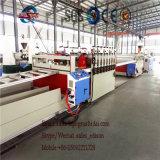 Линия PVC штрангя-прессовани доски PVC прессуя машины доски PVC снимая кожу с, котор пенят машины штрангя-прессовани доски