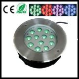 Luz subacuática teledirigida del RGB LED