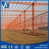 강철 구조물 Prefabricated 작업장 (L: 80m *W: 60m *H: 9m)