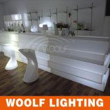 Nuevos muebles rectos iluminados LED del contador de la barra del diseño 2017