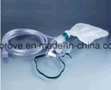 Ht-0453 CE Approved Medical Oxygen Mask avec Reservoir Bag