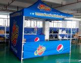 Tienda de calidad superior al aire libre de encargo de la visualización de la promoción del Gazebo con el pabellón de la impresión