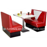 Hot Sale Restaurant Booth & Table for Restaurant (9080)
