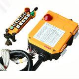 10 telecomando senza fili industriale del trasmettitore e della ricevente dei tasti F24-10d di doppia velocità