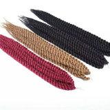 1B 2 4 crochet synthétique anti-calorique sénégalais du cheveu 2X 14inch du Burg 99j Rast enclenchant 2X La Havane