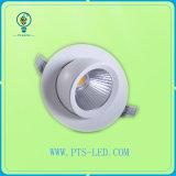 Venta caliente certificada Ce 15W LED Downlight, luz de la pista