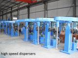 Dispersador de alta velocidade hidráulico automático Premixer da pintura da fábrica do Ce