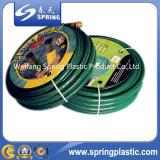Tuyau de jardin flexible renforcé en PVC à la meilleure qualité avec ajustement en laiton