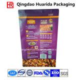 Flache Unterseiten-Plastiktiernahrung- für Haustiereverpackenbeutel