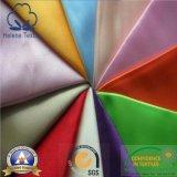 Ткань 100% сатинировки полиэфира Pocketing для вспомогательного оборудования одежды
