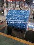 PPGI estampé, bobine en acier enduite par couleur de 1220 millimètres avec la fleur Design/PPGI/PPGL