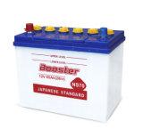 A bateria de carro Ns70 automotriz, seca a bateria cobrada, bateria acidificada ao chumbo do armazenamento