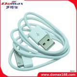 이동 전화 부속품 iPhone 4를 위한 백색 색깔 TPE USB 데이터 케이블