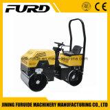Un giro di 1 tonnellata sul rullo compressore vibratorio del motore diesel (FYL-880)