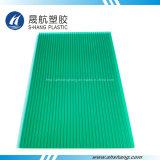 UV 코팅을%s 가진 대중적인 녹색 쌍둥이 벽 폴리탄산염 구렁 장